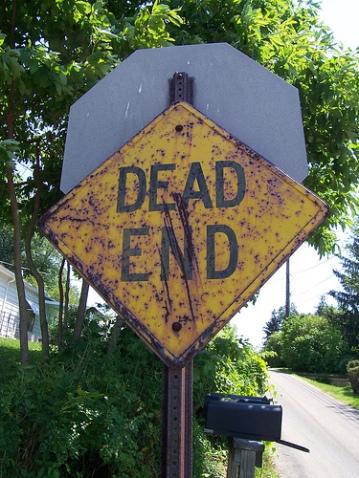 dead end copy